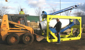 all-in-one concrete mixer